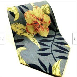 Tommy Bahama Hawaiian Floral Tropical Palm Tie